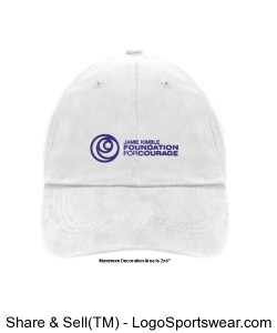 Unconstructed Heavy Brushed Cotton Cap Design Zoom